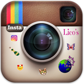 SNS Social Media ソーシャルメディア Butterfly Effect バタフライエフェクト Lico's 夢を叶える Diary Lico's Diary to Make Dreams Come True Official Instagram オフィシャル インスタグラム - 旧カメラアイコン Lico's Customized Button
